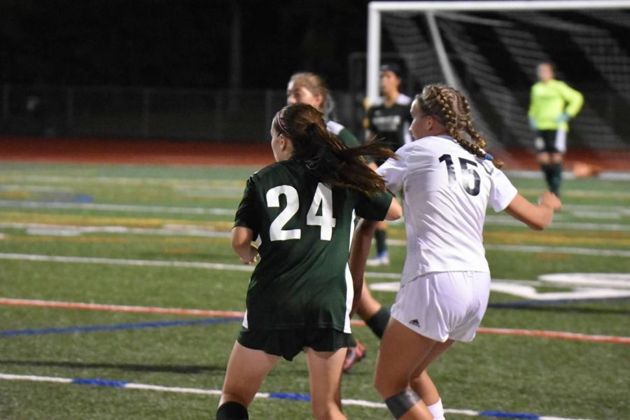 Norwalk's Girls Soccer Goes Against Staples on Home Turf