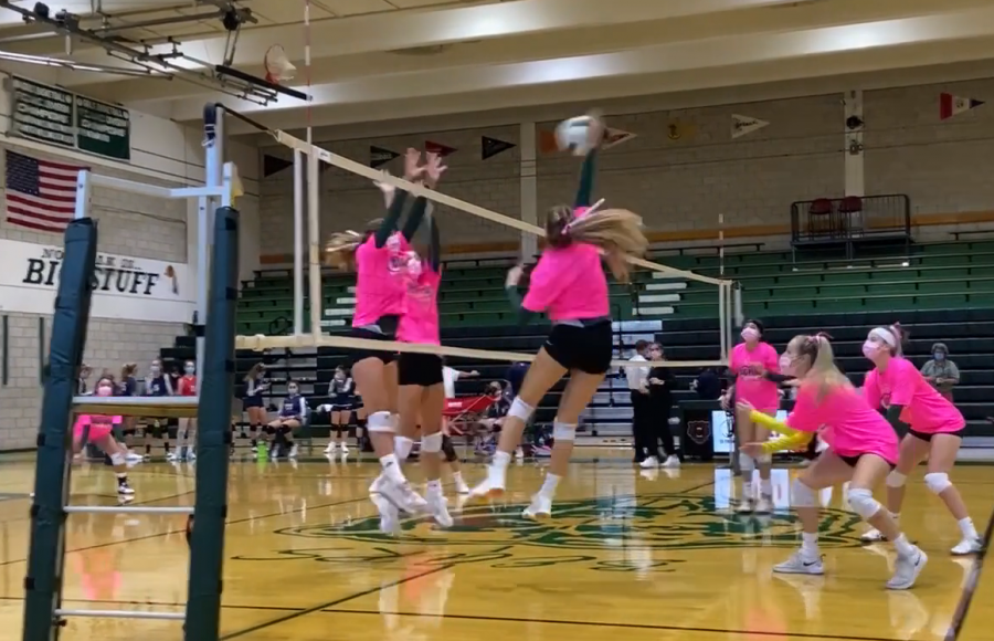 Girls Volleyball: Senior Night Revenge
