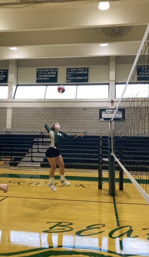 Brinn Renwick is getting ready to get some kills in the playoffs.