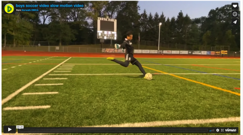 Boys Soccer - Slow Motion Shot