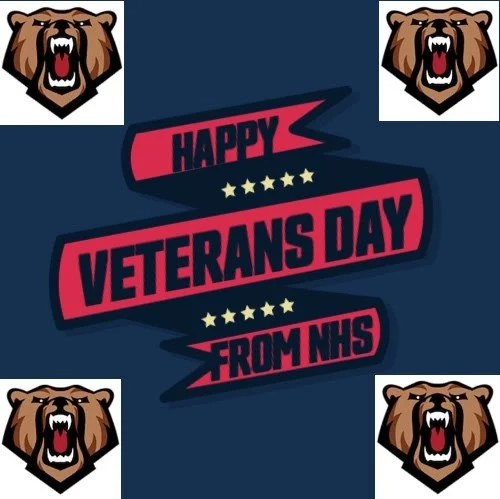 Social Media Impact Students Create Veterans Day Graphics