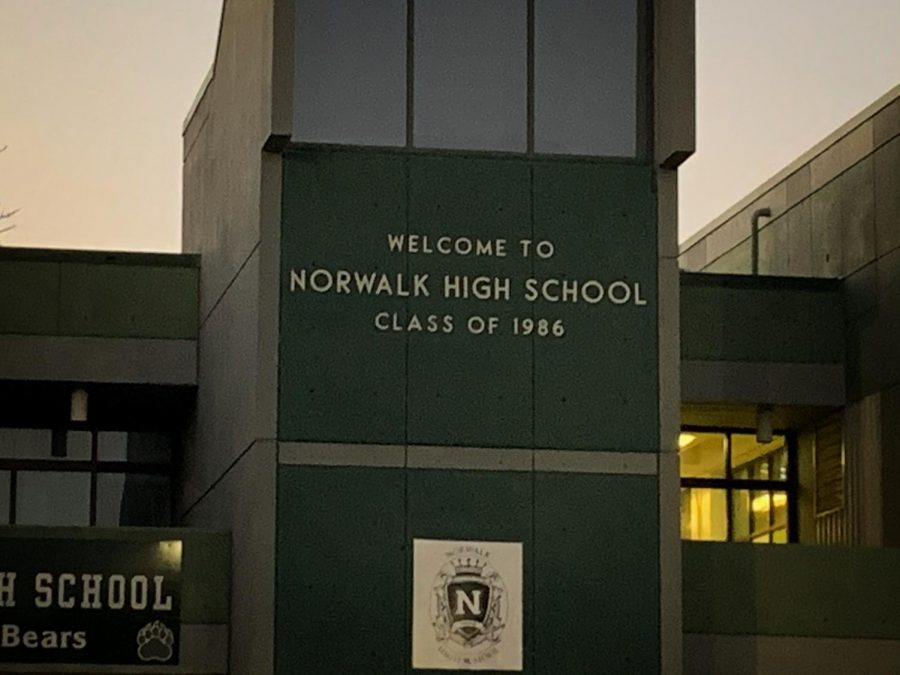 Closeup of Norwalk High