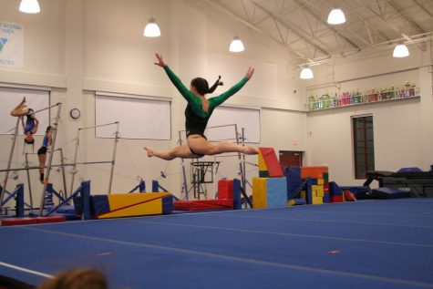 Alyssa Smeriglio on floor