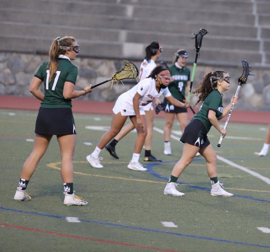 Kaylie Karidis taking an eight meters