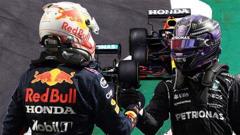 Max Verstappen (Left) & Lewis Hamilton (Right)